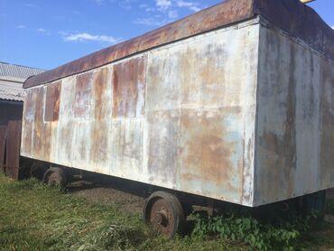 жилые вагончики бу в Кыргызстан: Строительный вагон 8 метров, жилой, утепленный, в очень хорошем