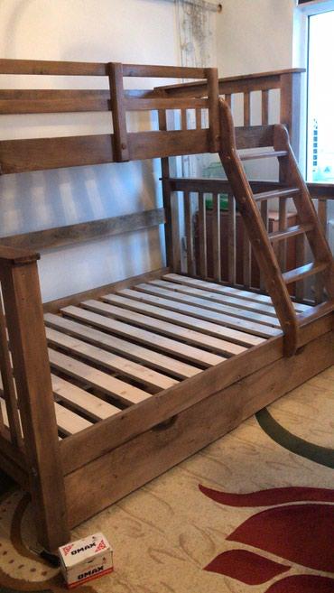 Двухярустный кровать карагач 100% в Бишкек