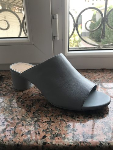 Продаю сабо, голубые, одевали 1 раз, в в Бишкек