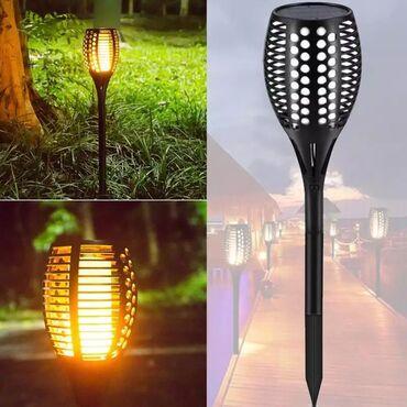 Podna lampa - Beograd: Solarna bastenska lampa/baklja  Led solarna bastenska baklja, ukrasna