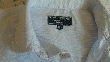 Ostala dečija odeća | Sombor: Komplet prsluk i kosulja 134 cena 1000din.ocuvano