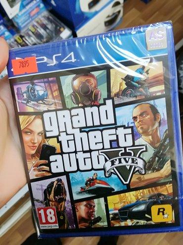 Bakı şəhərində GTA 5 oyun diski