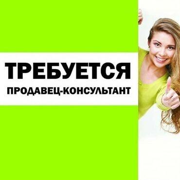 биндеры 17 листов механические в Кыргызстан: Продавец-консультант. С опытом. 5/2