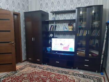 ош квартира берилет in Кыргызстан | УЗАК МӨӨНӨТКӨ: 2 бөлмө, Душ кабинасы, Жаздык, жууркан-төшөк каптары, Кондиционер, Жаныбарлары жок