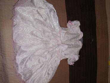 Decije haljine - Indija: Haljina je nova nikad korišćena sa pamučnom postavom. Pogodna za