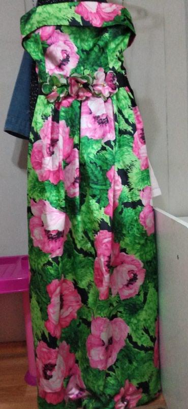 Продаю платье атласное. одевала один в Бишкек