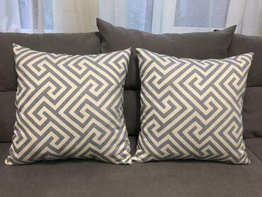 nano textile в Кыргызстан: Качественные диванные и спальные подушки  В наличии и на заказ Ткань Т