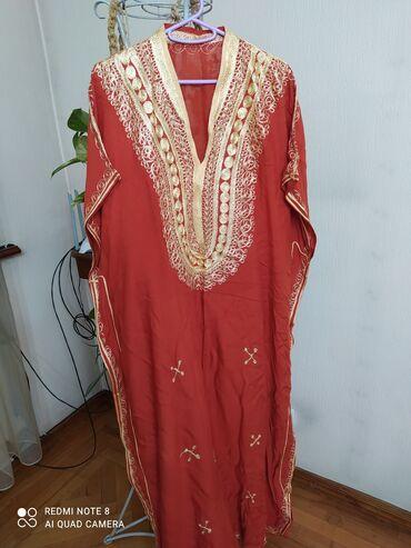 Продаю новое Марокканское платье,длинное в пол,чистый натуральный