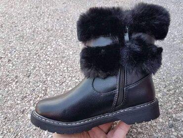 Dečija odeća i obuća - Ivanjica: Dečije čizmice sa krznom . kolekcija jesen -zima veličine od 25 do