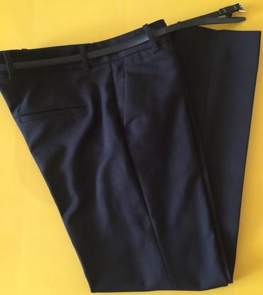 женские брюки дудочки в Азербайджан: Брюки классические, ZARA, как новые, размер M
