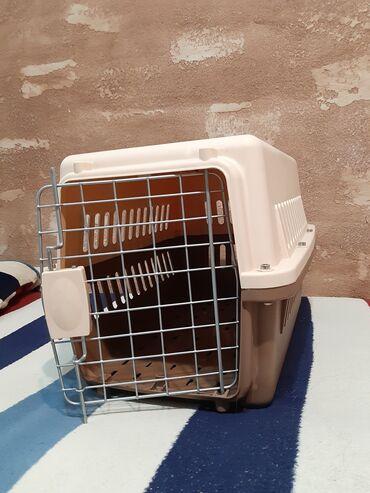 Зоотовары - Кыргызстан: Почти новая переноска для кошек. Идеальное состояние