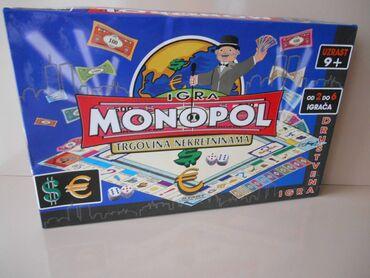 Monopol Drustvena Igra Na SrpskomNOVO najpopularnija drustvena igra