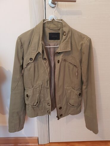 Maslinasto zelena jakna - Srbija: Jakna Vero Moda u maslinasto zelenoj boji kao nova, veličina S