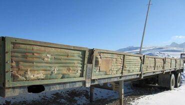 маз в Кыргызстан: МАЗ, полуприцеп 2шт. длина 12,3 метр. рабочий состояние отличное.цена