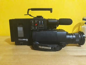 Za kolekcionare telefunken camera recorder 890 movie (1985) ,u ispravn - Zrenjanin