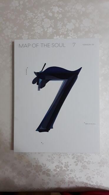 """ПРОДАЮ АЛЬБОМ """"MAP OF THE SOUL 7""""В комплекте все есть. Карточка"""