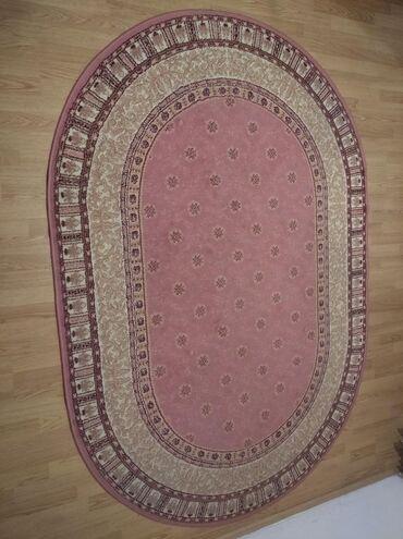 Kućni dekor - Zrenjanin: Očuvan tepih dimenzija 233x163cm.Plaćanje pouzećem ili lično