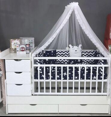 Детская мебель - Бишкек: Любимая кроватка многих мамочек, за практичность и многофункциональнос