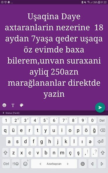 daye isi teklif olunur - Azərbaycan: Daye işi axtariram yalniz oz evimde uşaqa baxiram ciddi şexsler yazsin