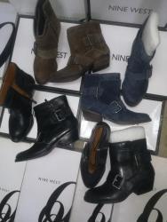 Ženska obuća | Smederevska Palanka: Nine West br. 5,5.5,6 dužina gazišta je 23, 23. 5 I 24cm. Štikla 4cm