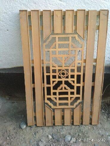 Другой домашний декор в Кыргызстан: Решётки для системы обогревания (деревянные заводские) 6 штук по 500