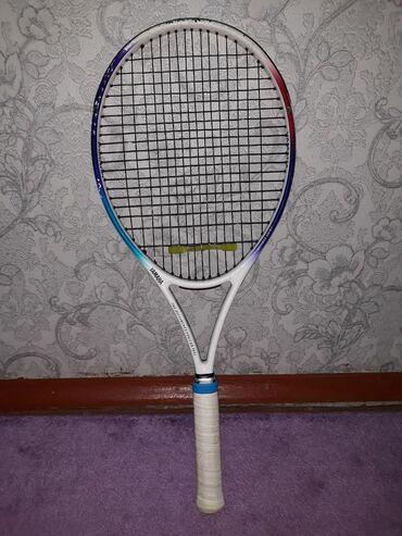 Ракетки - Кыргызстан: Теннисная ракетка.Состояние ракетки: хорошее, без трещин, буФирма