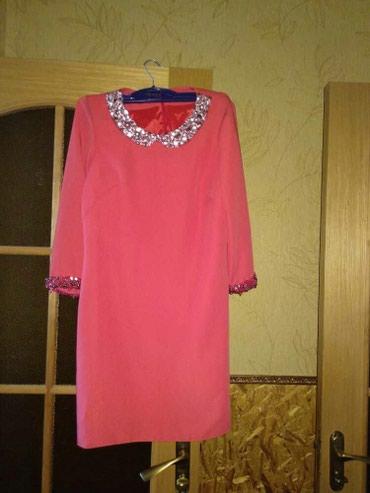 Платье очень красивого кораллового цвета в Бишкек