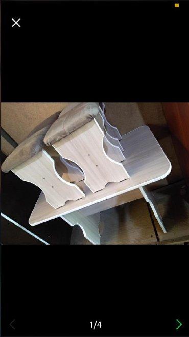 стол с двумя стульями в Кыргызстан: Стол стул на кухню