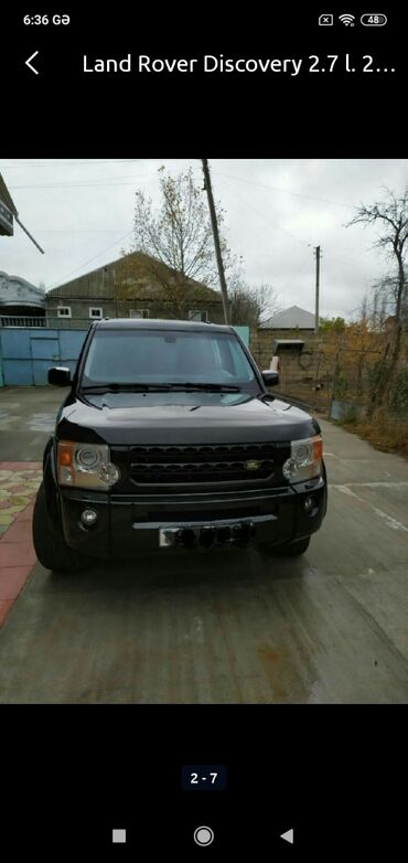 Land Rover - Azərbaycan: Land Rover Discovery 2.7 l. 2005 | 234000 km