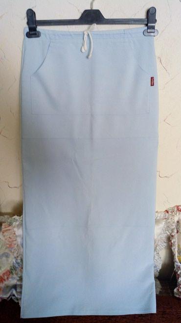 Letnja dzins suknja sa elastinom..nova..oko pojasa sirina...80 - Kraljevo