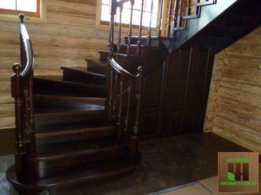 Лестница лестницы деревянные сосна карагач кара жыгач в Бишкек