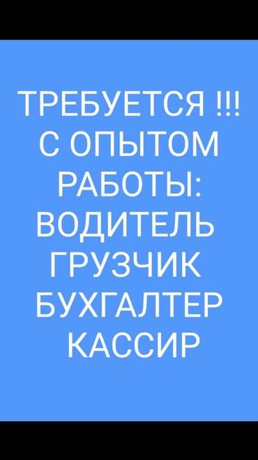 Требуется пом бухгалтер можно без в Бишкек