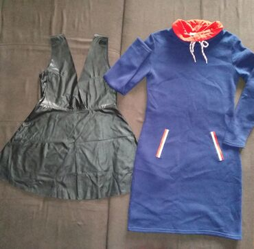 Платье и туника, размер 46-48, всё за 150 сом