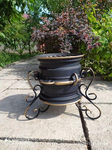 Все для дома и сада в Кок-Ой: Очаг для дома удобный для транспортировки с 10 литровым казаном 5000с