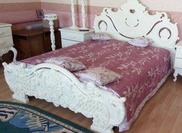 Продается двухспальная кровать из в Талас