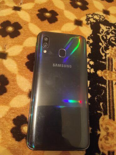 Электроника - Ош: Продается Самсунг а40 4/64 Гб. Есть трещина на экране на работу никак