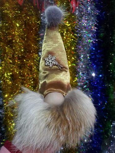 Новый игрушка скандинавский гном ~ 20 см натуральный мех лисы, из