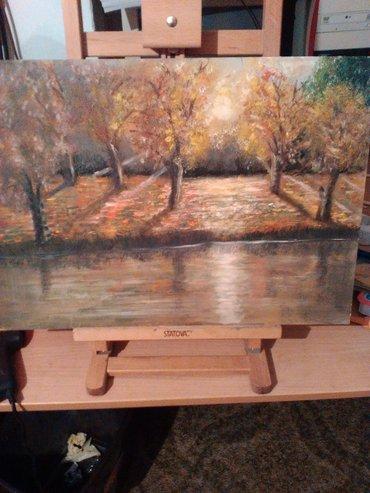 Slika ulje na ploci,3. 500,00din - Senta