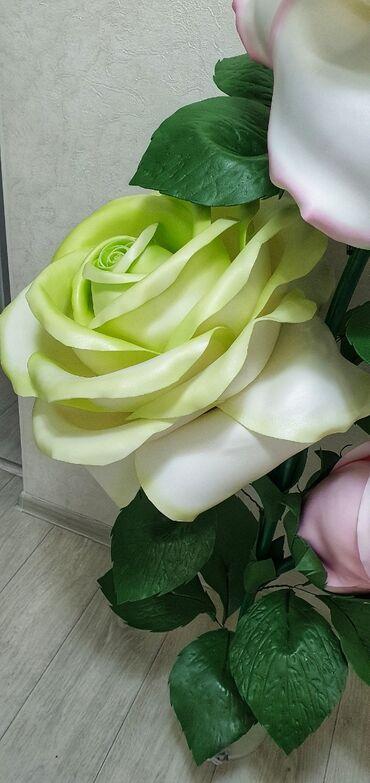 объявления о работе бишкек в Кыргызстан: Торшер из роз, очень красивый! Высота 1.65 см, по супер Также смотрите