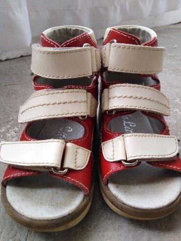 Ортопедические сандальки размер 22 состояние нового. г. Каракол
