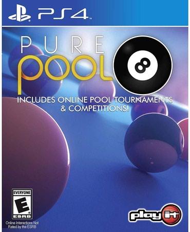 Bakı şəhərində Ps4 üçün pure pool oyun diski satılır Yenidir bağlı upokovkada orginal