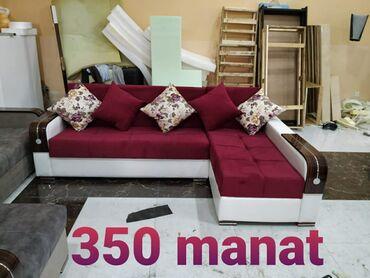 Künc divanlar 240×150 ölçüdə 350 manat. Açılıb bağlanır. Bazalıdır