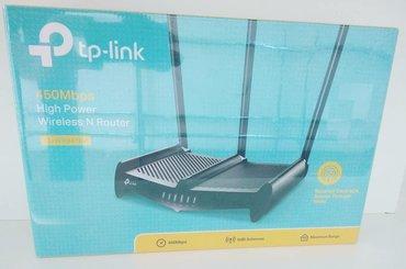 Tp-Link 3 anten Router 120aznYani şunurla alıb wifiylə