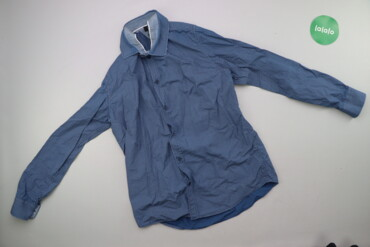 Чоловіча сорочка з принтом Oodji р. L    Довжина: 63 см Ширина плечей