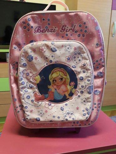 Putni kofer za devojčice. Korišćen, u odličnom stanju, bez ijednog - Vrsac