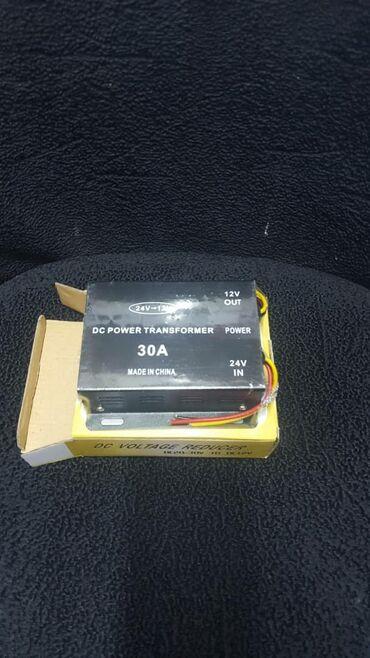 Другая автоэлектроника - Кара-Балта: Преобразователь напряжения с 24 на 12 Вольт
