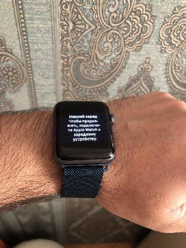 Другие аксессуары для мобильных телефонов в Локбатан: Apple Watch original saatiseriya 2 Nike+ maqnit qolbaqla.Islemeyinde