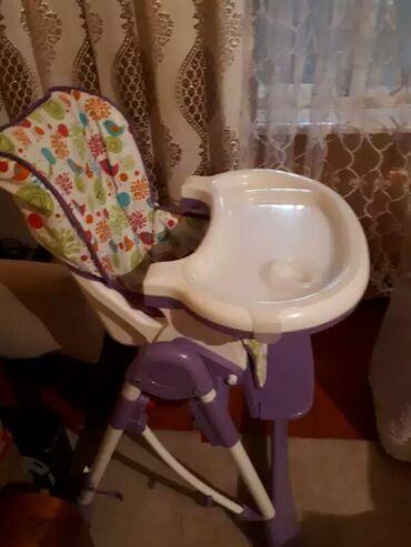 Детский мир в Таджикистан: ПРОДАЮ детскую стулчик для питания и развлечения ребёнкаскладывается