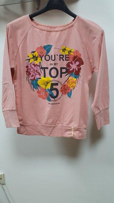 Pamucna bluzica za devojcice, velicina 10. Nova - Smederevo