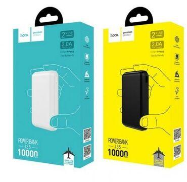 Orginal Hoco power bank 10000mah Eyni vaxtda 2 telefonu şarj